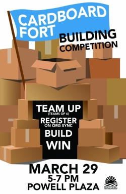 Cardboard Fort Building Competition